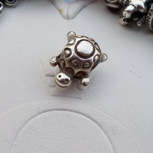 Authentic Pandora sterling silver turtle 925 ALE
